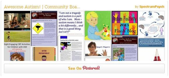 Awesome Autism!: A Community Pinterest Board