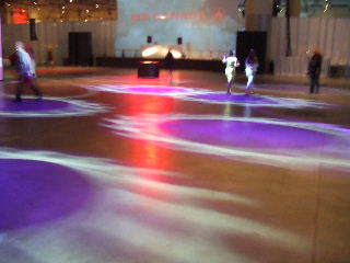 Dance floor awaits